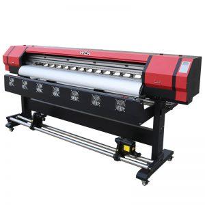 1.8m eco pelarut digital pencetak dua kepala pencetak DX5 WER-ES1901
