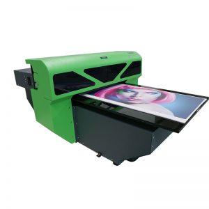 1800 A2 saiz reka bentuk baru tekstil flatbed pencetak pencetak Mesin WER-D4880UV