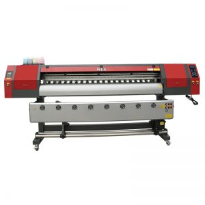 1800mm 5113 double head digital printing mesin percetakan inkjet mesin untuk sepanduk WER-EW1902