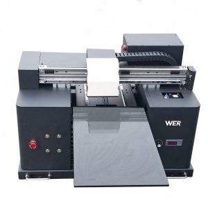 2018 UV membawa mesin pencetak flatbed a4 dtg t shirt logo mesin cetak untuk dijual WER-E1080T