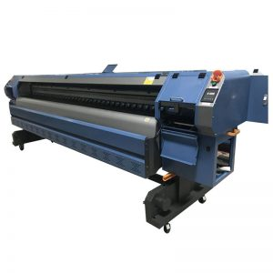 3.2m Konica 512i printhead digital vinyl flex banner pelarut pencetak / plotter / mesin cetak WER-K3204I