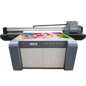 Kesan 3D UV flatbed pencetak, pencetak seramik, mesin percetakan jubin di China WER-EF1310UV