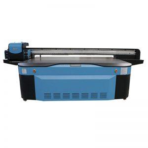 UV digital flatbed mesin cetak besar format 2500X1300 WER-G2513UV