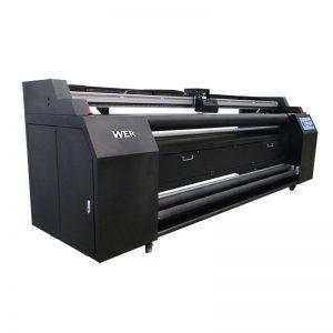WER-E1802T 1.8m terus ke pencetak tekstil dengan pencetak sublimasi 2 * DX5