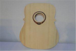 Sampel gitar kayu dari pencetak uv saiz A2 WER-DD4290UV