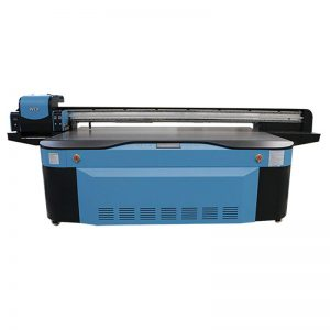 warna penuh CMYK LCLM varnis UV flatbed pencetak 3D WER-G2513UV
