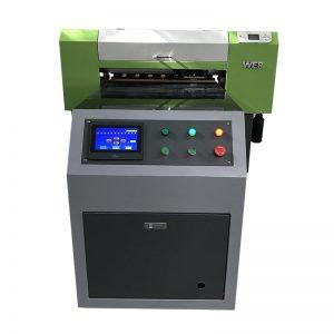 terus ke pakaian mesin tekstil kain kain percetakan digital T-shirt pencetak uv WER-ED6090T