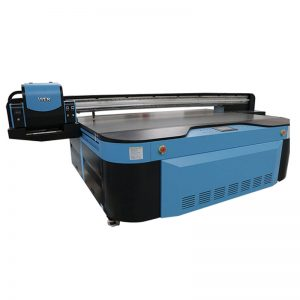 berkualiti tinggi UV flatbed printerfor wall / jubin seramik / foto / acrylic / kayu percetakan WER-G2513UV