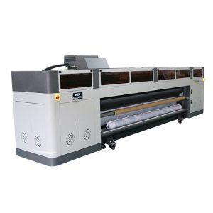 resolusi tinggi berkelajuan tinggi mesin pencetak inkjet digital dengan ricoh gen5 print head UV plotter WER-G-3200UV