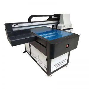 pencetak flatbed UV berkelajuan tinggi dengan membawa lampu UV 6090 saiz cetak WER-ED6090UV